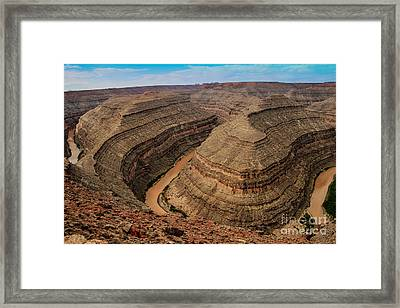 Goosenecks State Park Framed Print by Robert Bales