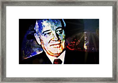 Gorbachev Framed Print