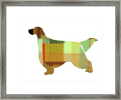 Gordon Setter Framed Print by Naxart Studio