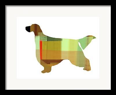 Gordon Setter Art Framed Prints