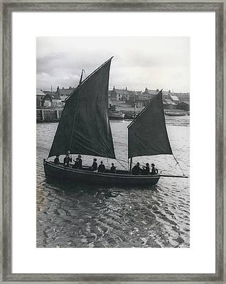 Gordonsrtoun School Seamanship Has An Important Place In Framed Print by Retro Images Archive