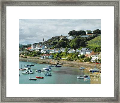 Gorey Bay Framed Print