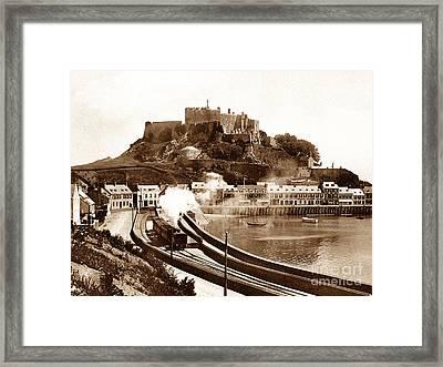 Gorey Railway Station Jersey  Framed Print
