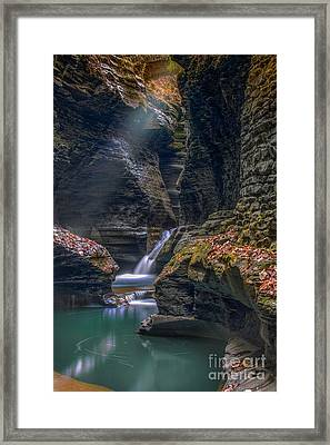 Gorge Serenity Framed Print by Marco Crupi