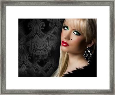 Gorgeous 2 Framed Print by Karen Showell