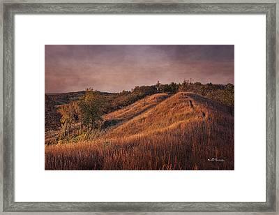 Gorgeous Daybreak Framed Print by Jeff Swanson