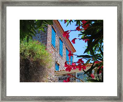 Framed Print featuring the photograph Gorgeous Island Residence by Andreas Thust