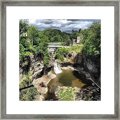 Gorges Framed Print by Mike Maher