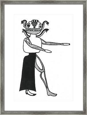 Gorgon, Legendary Creature Framed Print