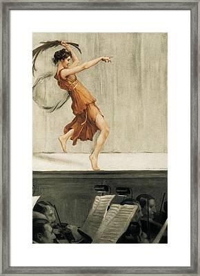 Gorguet, Auguste Fran�ois Marie Framed Print by Everett