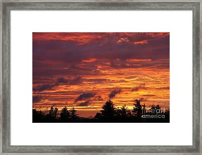 Gorham Sunset After Rain Framed Print