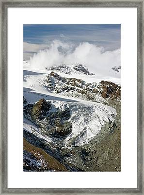 Gorner Glacier Framed Print by Bob Gibbons