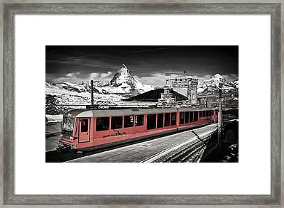 Gornergrat Bahn Framed Print