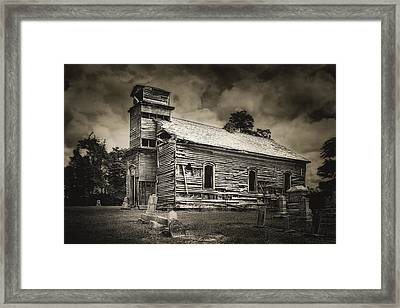 Gospel Center Church I Framed Print by Tom Mc Nemar
