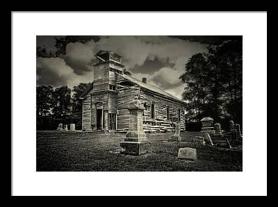 Cemetery Framed Prints