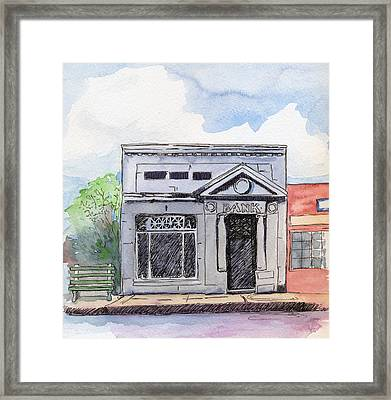Gosport Bank Framed Print by Katherine Miller