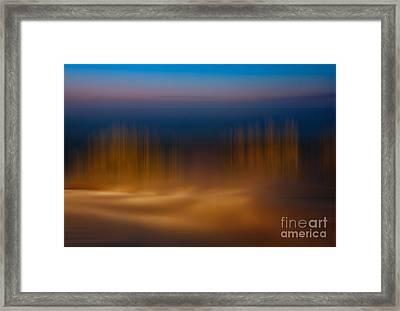 Gossamer Sands - A Tranquil Moments Landscape Framed Print by Dan Carmichael