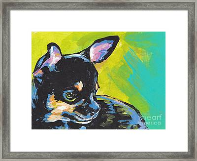 Got Chi? Framed Print by Lea S