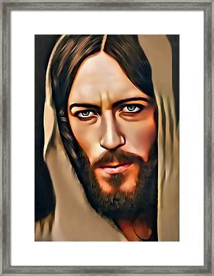 Got Jesus? Framed Print