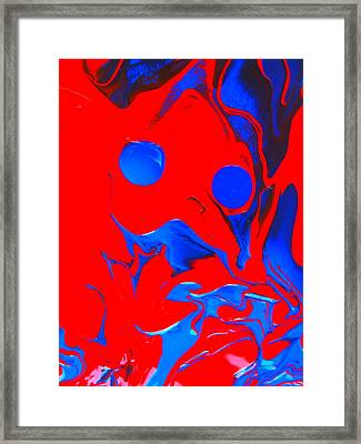 Got Slobber? Framed Print