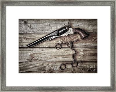 Got To Trust Them  ... Framed Print