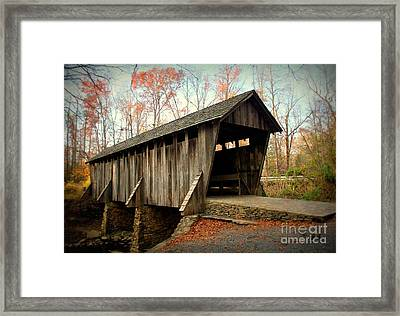 Got You Covered Framed Print