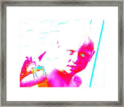 Got You In My Hand And Under My Skin  Framed Print