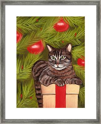 Got Your Present Framed Print by Anastasiya Malakhova
