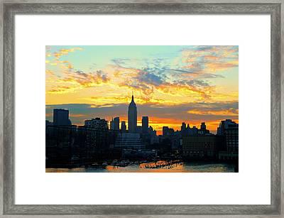 Gotcha New York City Framed Print by Diana Angstadt