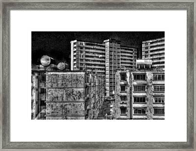 Gotham City Panama Style Framed Print