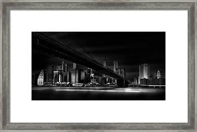 Gotham City. Framed Print by Peter Futo