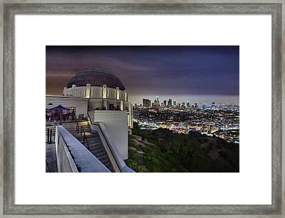 Gotham Griffith Observatory Framed Print