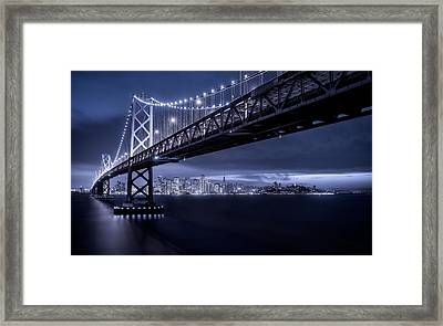 Gotham Framed Print by Lincoln Harrison