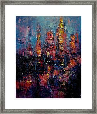 Gotham Framed Print by R W Goetting