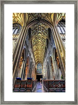 Gothic Architecture Framed Print by Adrian Evans