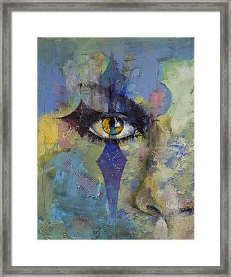 Gothic Art Framed Print by Michael Creese