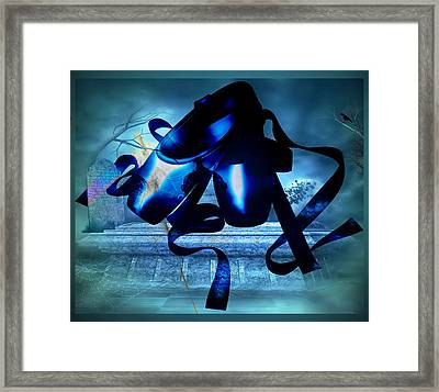 Gothic Ballet Framed Print by Paula Ayers