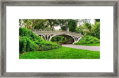 Gothic Bridge Framed Print by David Hahn