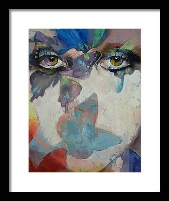 Papillon Framed Prints