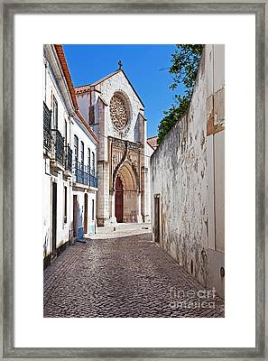 Gothic Church Framed Print by Jose Elias - Sofia Pereira