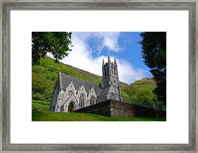 Gothic Church Framed Print by Charlie and Norma Brock