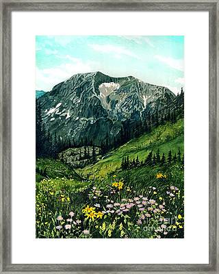 Gothic Grandeur Framed Print by Barbara Jewell
