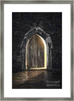 Gothic Light Framed Print by Carlos Caetano