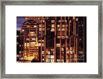 Framed Print featuring the photograph Gothic Living - Yaletown Ccclxxx by Amyn Nasser