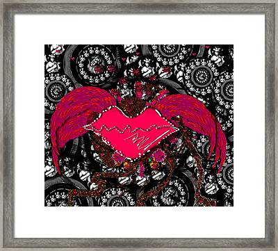 Gothic Night Framed Print by Pepita Selles
