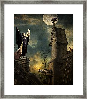 Gothic Queen Framed Print