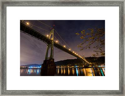 Gothic Sentries Framed Print by Chad Dutson