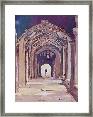 Gothic Spector Framed Print by Jenny Armitage