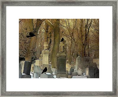 Gothic Splash Framed Print