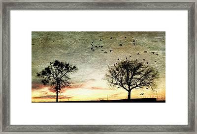 Gothic Sundown - No.1958 Framed Print